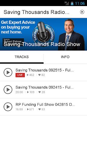 Saving Thousands Radio Show