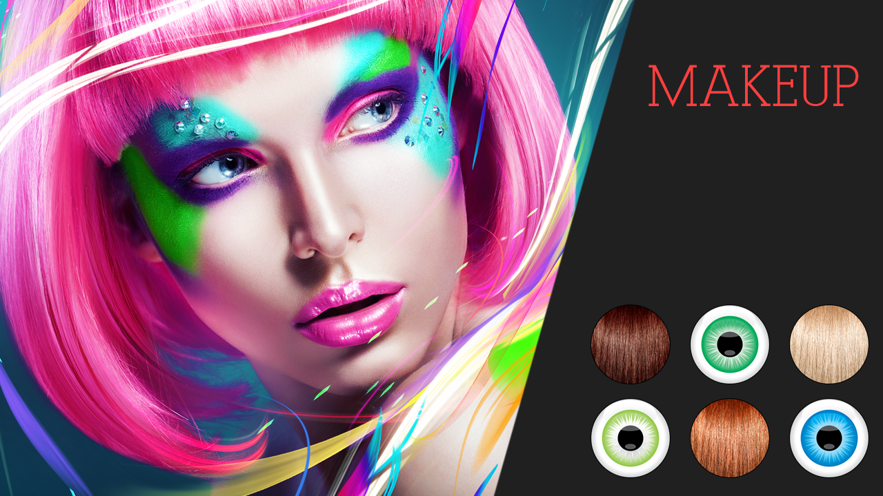 makeup hair and eye color android apps on google play