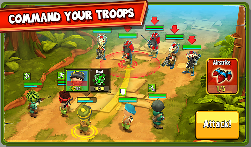 The Troopers: minions in arms screenshot 12