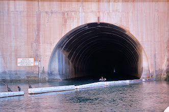Photo: One of the Arizona spillway tunnels.