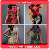 African Print Dresses Ideas
