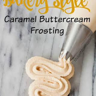 Caramel Buttercream Frosting.