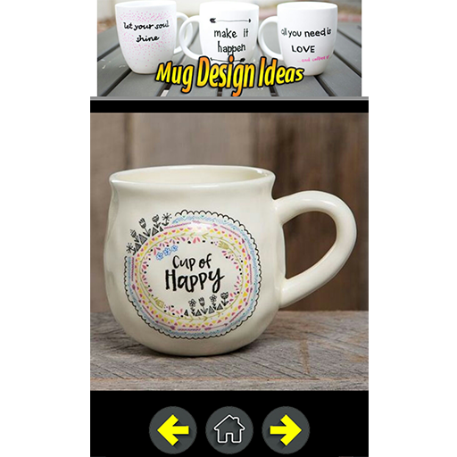 Cup Design Ideas messages Mug Design Ideas Screenshot