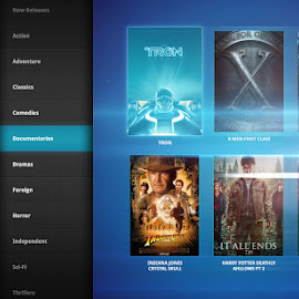 Inflight Entertainment UI by Keith Barney - Web & Apps UI ( ui, ife, inflight )