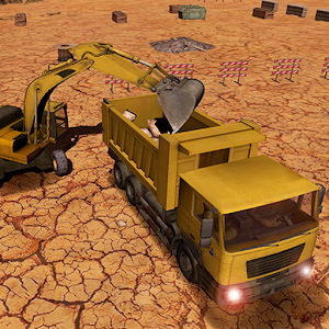 Haul Truck Rocks Transporter for PC and MAC