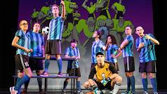 Los protagonistas de Los Futbolísimos, el Musical.