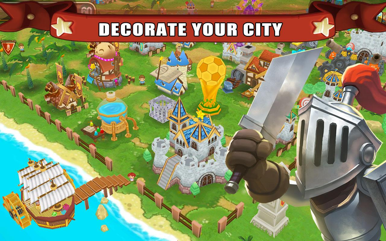 Screenshots of Little Empire for iPhone