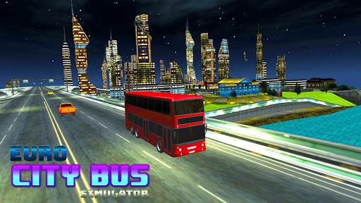 Real Euro City Bus Simulator 2019 Game 1.0.3 screenshots 1