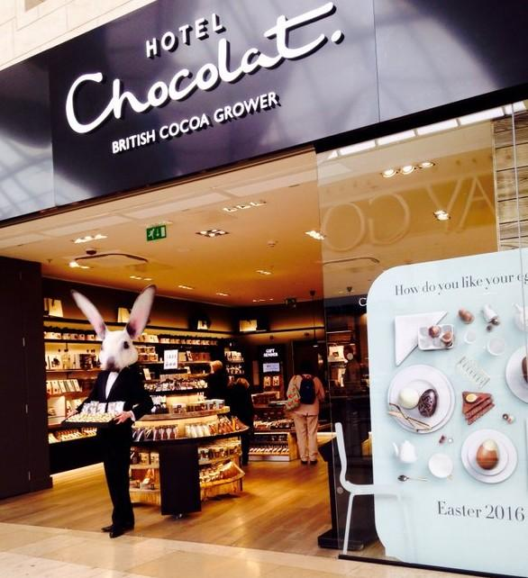 Image result for Hotel Chocolat: The Beau Bunny