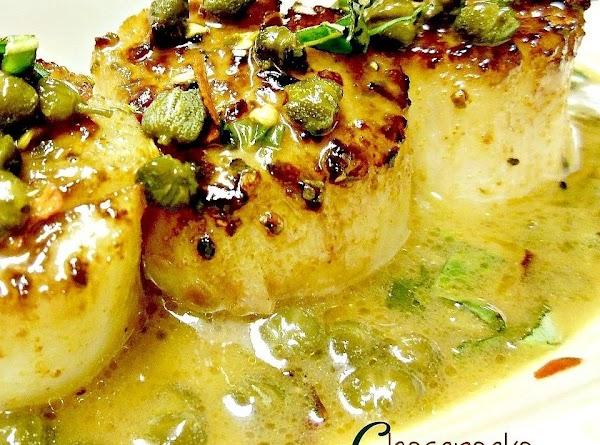 Chesapeake Scallop Piccata Recipe