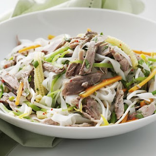 Duck And Noodle Salad
