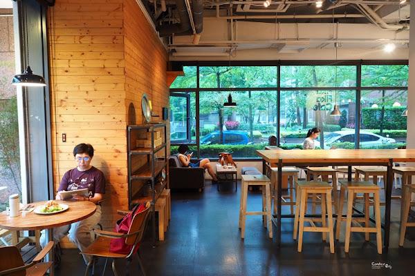 《松江南京》Fika Fika Cafe 台北不限時咖啡廳 咖啡超好喝!