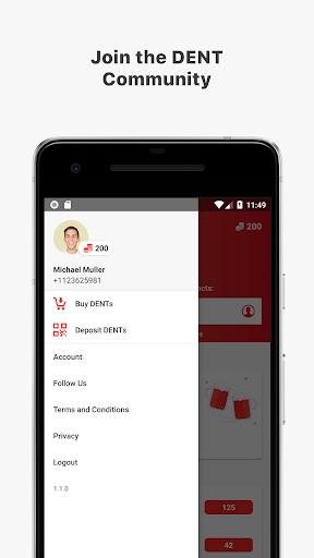 DENT - Send mobile data top-up 1.1.2 screenshots 3