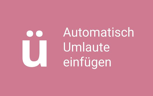 Umlauter: automatically add Umlauts