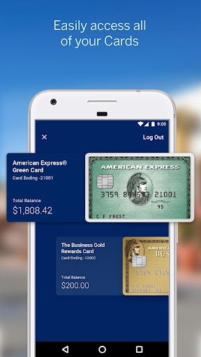 Amex Mobile screenshot