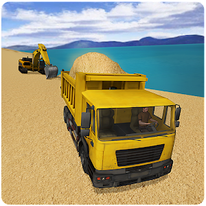River Sand Transporter Truck for PC and MAC