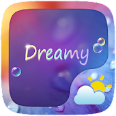 Dreamy GO Weather Widget Theme