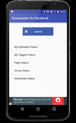 Downloader for Facebook Videos