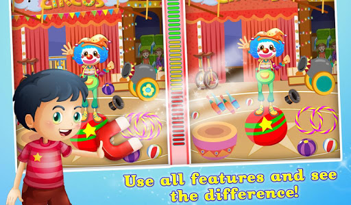 Circus Spot The Difference Fun v1.0.0