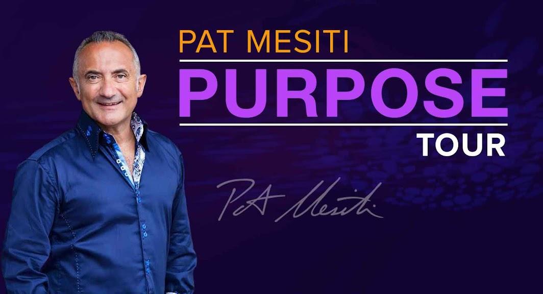 Pat Mesiti Purpose Tour