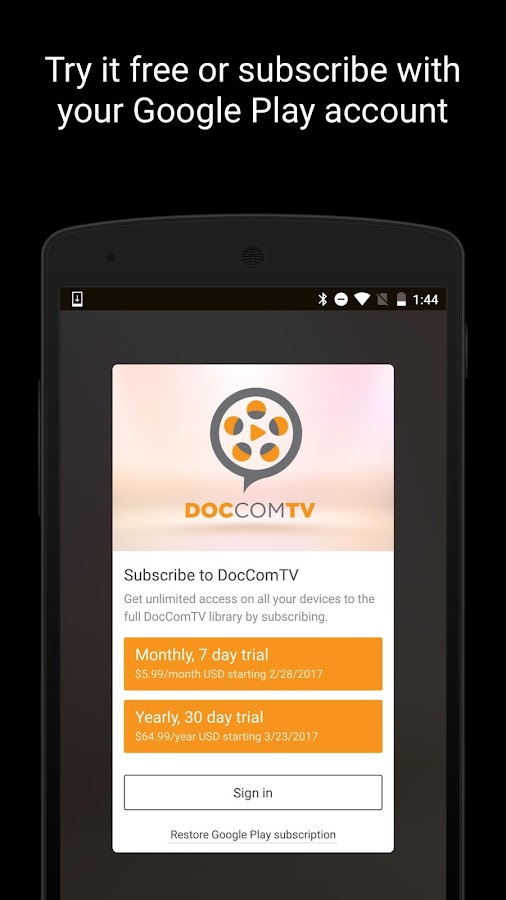 DocCom TV- screenshot