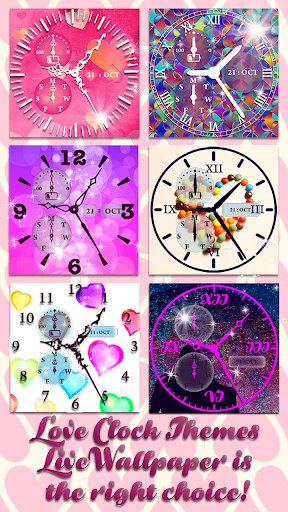Download Love Clock Themes Live Wallpaper Google Play softwares