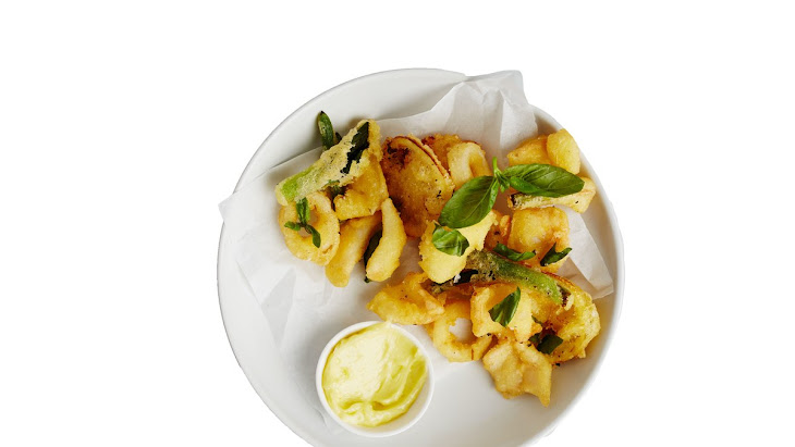 Fried Squid with Aioli Recipe
