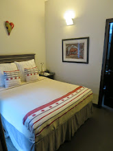 Photo: Our room, Dahlia, is the smallest of the house with a beautiful private bathroom.