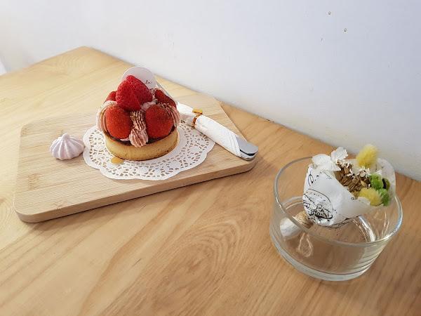 蒔初甜點Originl'a Tart & Dessert。隱身動漫彩繪巷裡的甜塔專賣店!