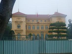 Photo: Prezidentský palác v Hanoji