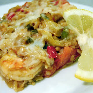 Cajun Crab & Shrimp Casserole.