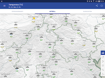 WarnWetter screenshot 9