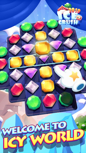 Ice Crush 2018 - A new Puzzle Matching Adventure 1.8.0 screenshots 1