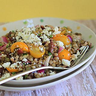 Israeli Couscous & Green Lentil Salad