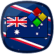 Australia Flag Theme for XPERIA for PC-Windows 7,8,10 and Mac