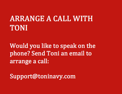 Arrange a Call With Toni Navy