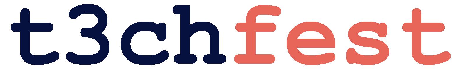 Logotipo del t3chfest