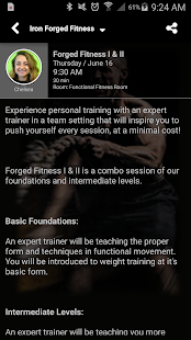 Iron Forged Fitness- screenshot thumbnail