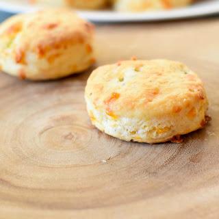 Jalapeño Cheddar Biscuits.
