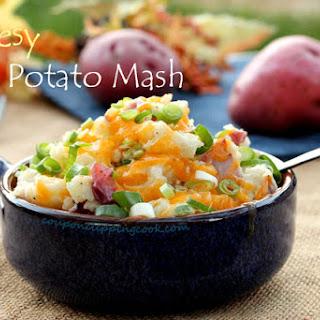 Cheesy Red Potato Mash
