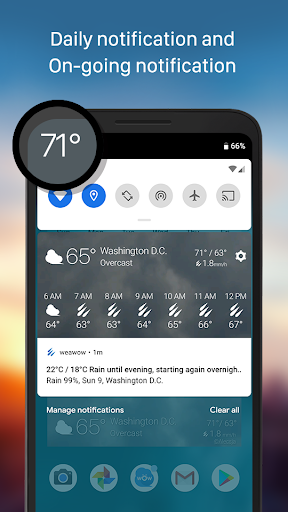 Weather & Widget - Weawow screenshot 6