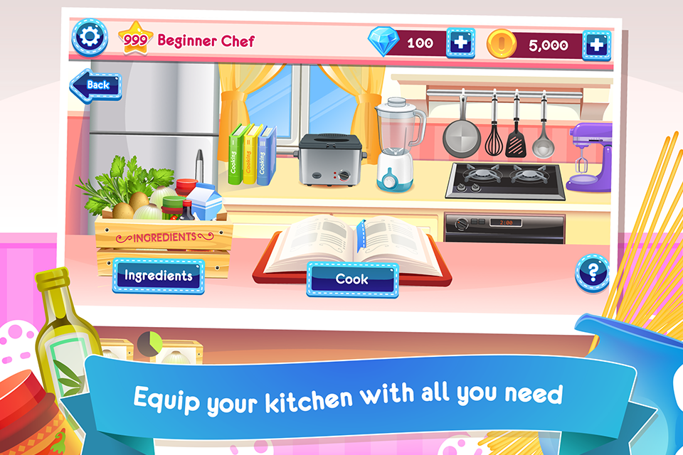 Cooking Story Deluxe- screenshot