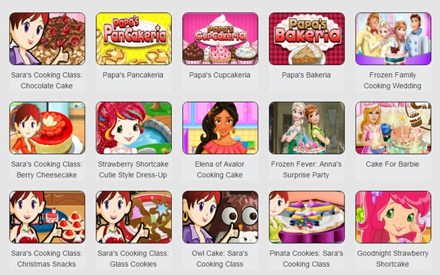 Cake Games: Everybody loved mum's cake! You have your chance to play cake  or pancake cooking games.
