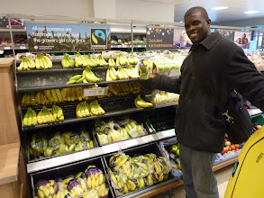 Photo: Moses reunited with his bananas!