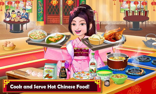 Chinese Food Court Super Chef Story Cooking Games 1.3 screenshots 1