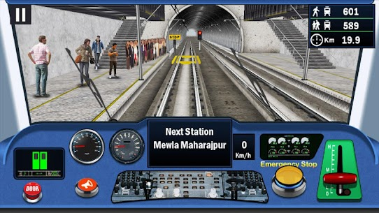 DelhiNCR Metro Train Simulator 1