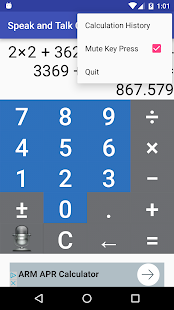 Speak n Talk Calculator Lite - náhled