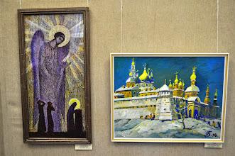 Photo: Экспозиция выставки в выставочном зале Одесского Дома - Музея имени Н.К.Рериха.