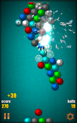 Magnetic Balls HD Free: Match 3 Physics Puzzle 2.2.0.9 screenshots 22