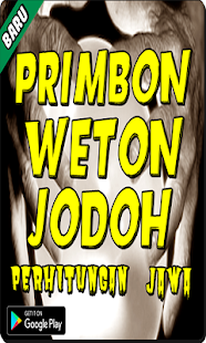 Primbon Weton Jodoh Perhitungan Jawa terlengakap - náhled